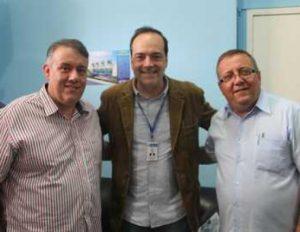 Prefeito de Macuco recebe secretário estadual de Transportes