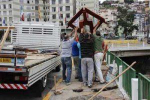 Nova Friburgo inicia instalação de abrigos para novos pontos de ônibus intermunicipais