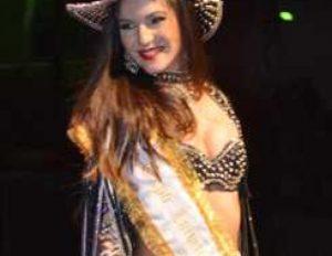 Representante de Cordeiro volta a vencer o concurso Rainha da Exposição