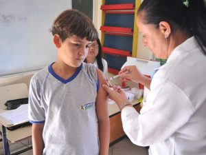 Em Campos, 10 mil meninos foram vacinados contra o HPV