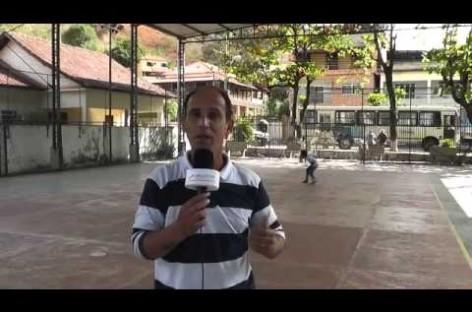 Inclusão do Programa jogando junto para São Sebastião do Alto, Valão do Barro e reforma da quadra de Ipituna, inclusão no projeto de escolinha do Leo Moura no município