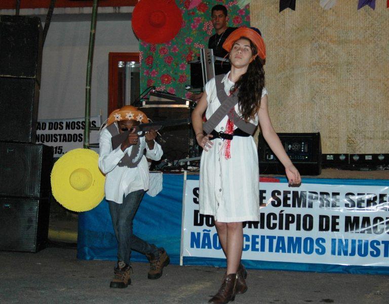 'Arraiá da Cultura' alegra o sábado dos macuquenses