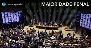 Plenário conclui votação da PEC da redução da maioridade penal