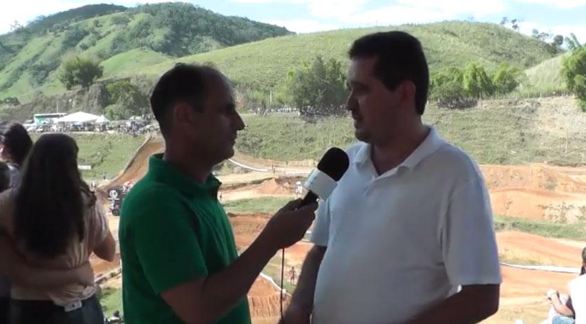 Entrevista com o Secretário de Governo Tavinho Rodrigues de São Sebastião do Alto no XXXII Motocross