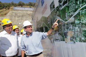 Pezão e Paes visitam túnel da Transolímpica