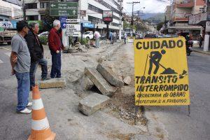 Secretaria de Obras segue com a última etapa das obras no Paissandu