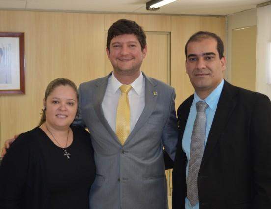 Secretário Nacional de Juventude recebe secretário de Cordeiro
