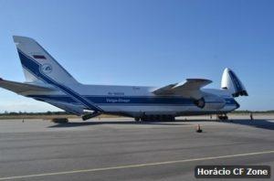 Aeroporto de Cabo Frio recebe pela segunda vez o maior avião de carga do mundo
