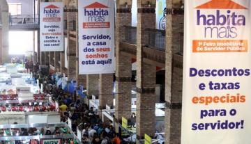 Feira Imobiliária Habita Mais registra mais de sete mil atendimentos no primeiro dia de funcionamento