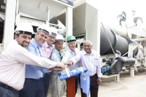 Prefeitura de Nova Friburgo inaugura usina de asfalto quente