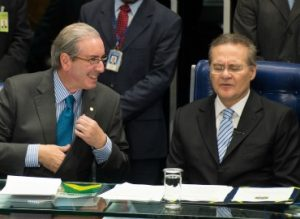 Disputa entre Cunha e Renan ameaça sessão para analisar vetos