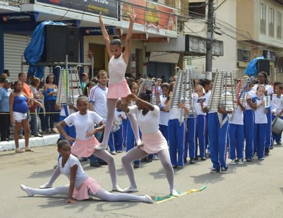 Cordeiro comemora a Independência do Brasil com desfile cívico