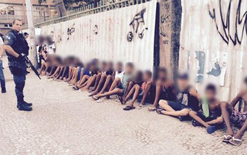 Adolescentes que fizerem baderna em ônibus não chegarão às praias, diz Pezão