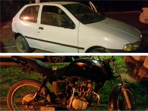 PM flagra 4 em Trajano de Moraes, com veículos furtados em Macaé