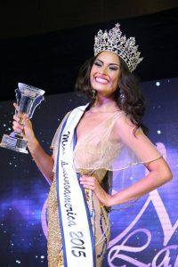 BRASILEIRA VENCE O MISS LATINOAMÉRICA 2015,  CONCURSO REALIZADO NO PANAMÁ