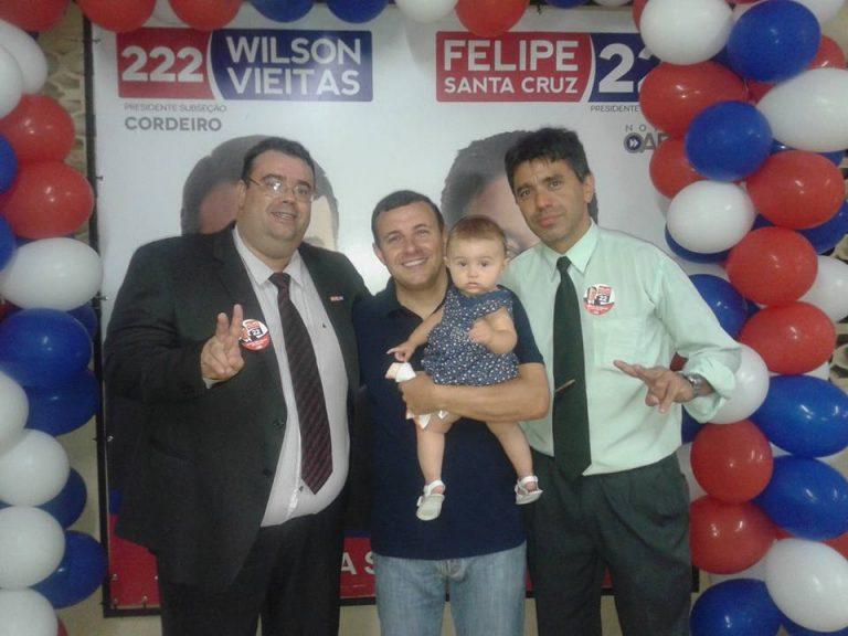 Advogado Wilson Vieitas é eleito presidente da Oab/Cordeiro.