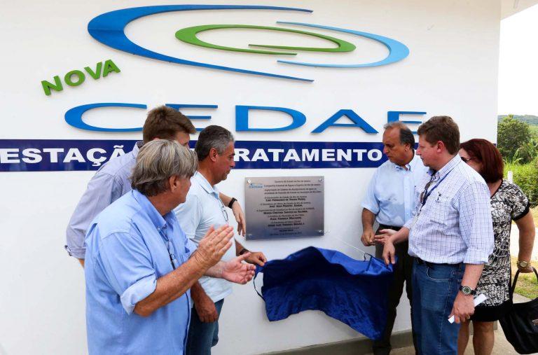 Governo do Rio amplia oferta de água em Rio Claro