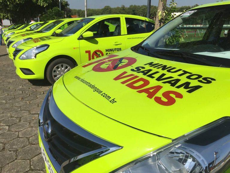 Prefeituras recebem carros e ambulâncias para transporte de pacientes e combate ao Aedes aegypti