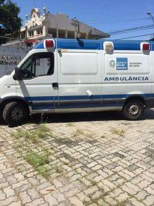 CANTAGALO RECEBE DUAS AMBULÂNCIAS DO ESTADO