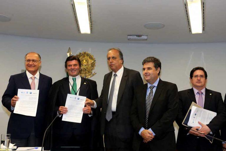 RJ, SP e MG assinam acordo para aumentar segurança hídrica dos estados