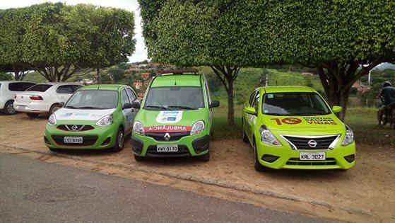 Prefeitura recebe três novos veículos