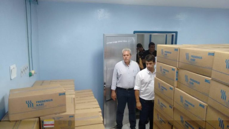 Secretaria Estadual de Saúde monta centro de hidratação em hospital de Cordeiro