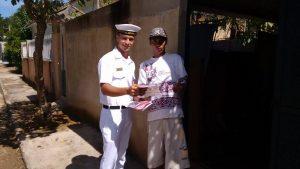 Cordeiro recebe apoio de militares na Campanha contra a Dengue