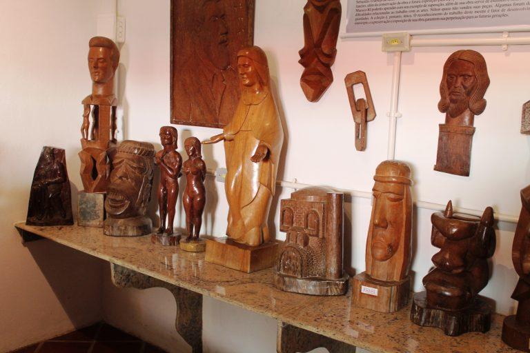 Acervo de artista macuquense aberto à visitação