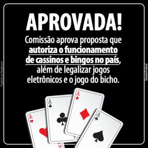 Agenda Brasil: comissão aprova legalização de cassinos, bingos e jogo do bicho