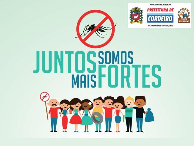 Cordeiro promove mobilização contra o Aedes aegypti