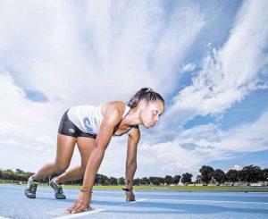 Velocista disputa vaga nas Olimpíadas