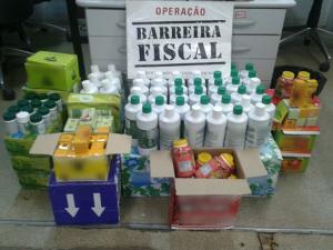 Operação Barreira Fiscal apreende medicamentos sem registro da ANVISA