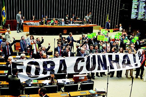 Sessão do impeachment quebra recorde na Câmara dos Deputados