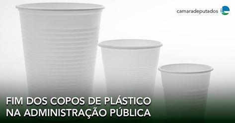 Projeto proíbe uso de copos descartáveis na Administração Pública