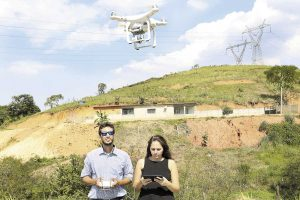 Drone monitora irregularidades no Arco Metropolitano