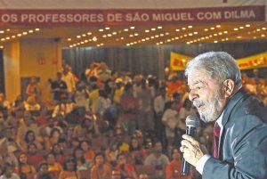 Lula pede a deputados que não caiam no 'canto da sereia'