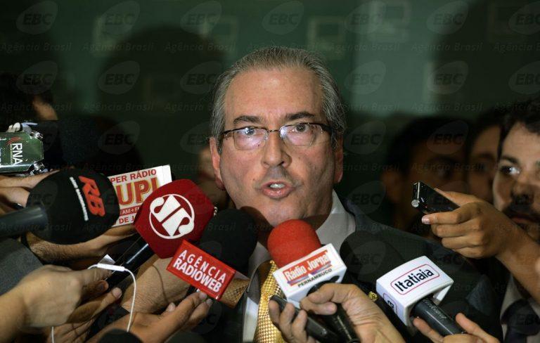 'Quanto mais demorar no Senado, pior', diz Cunha sobre impeachment