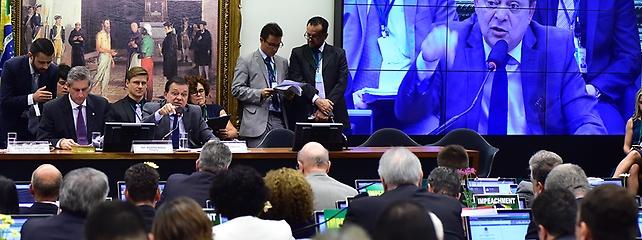 Comissão do Impeachment aprova requerimento e votação de relatório será pelo sistema eletrônico