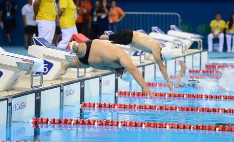 Brasil termina open internacional de natação paralímpica com 66 medalhas