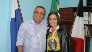 Deputada Martha Rocha é recebida pelo prefeito de Macuco