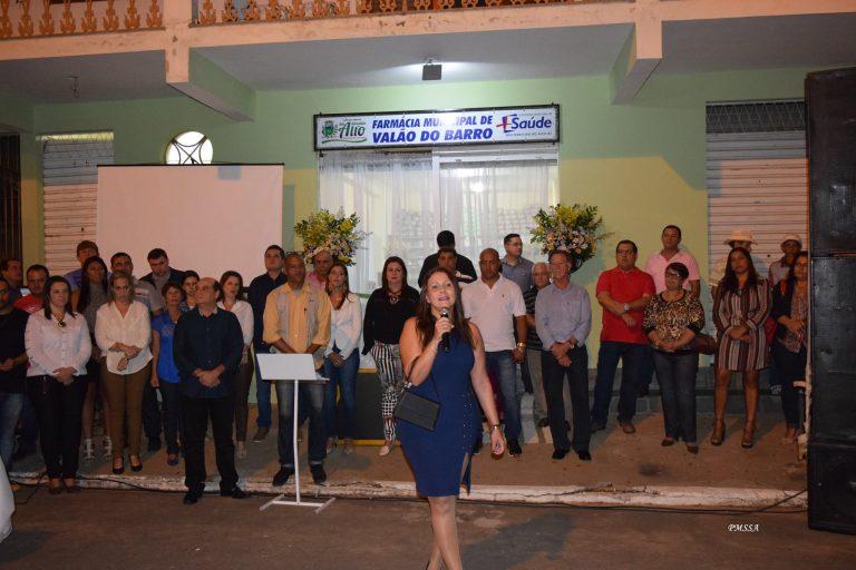 Prefeitura de São Sebastião do Alto inaugura farmácia municipal em Valão do Barro