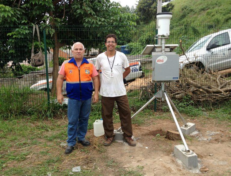 Defesa Civil instala mais dois pluviômetros automáticos em Cordeiro