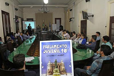 Lançamento do parlamento juvenil: 10ª edição traz novidades