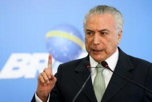 """Temer diz que acusações de Machado são """"mentirosas e criminosas"""""""