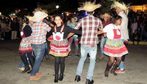 Quadrilha foi um show à parte na Festa de São João Batista
