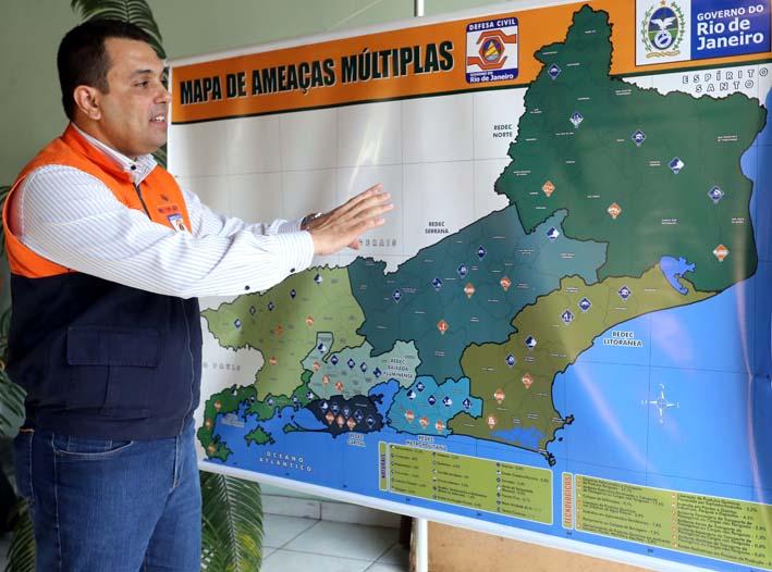 Defesa Civil lança Mapa de Ameaças Múltiplas do Estado