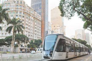 Avenida Rio Branco vira área de lazer para o início do VLT
