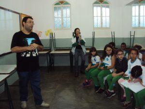 Meio Ambiente de Cordeiro realiza palestras para estudantes