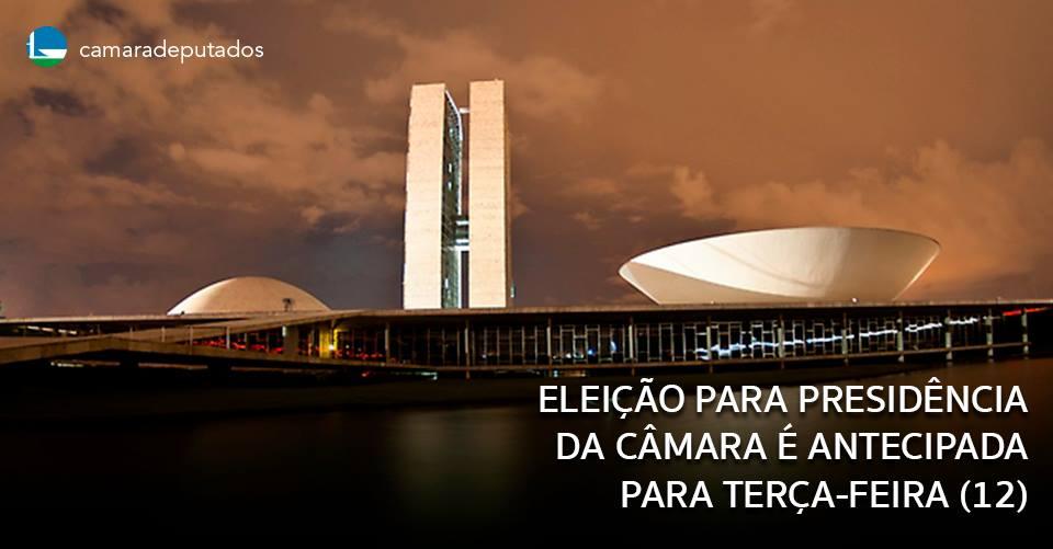 Colégio de Líderes antecipa eleição para presidência da Câmara para terça-feira