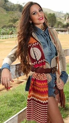 Jennifer Lins representa Cantagalo no Concurso Rainha da Expo-Cordeiro